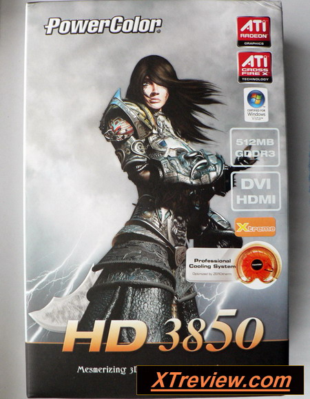 PowerColor Radeon HD 3850 512 Mb