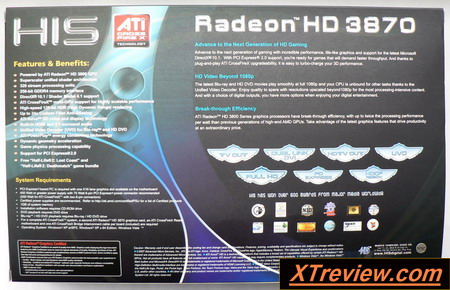 HIS Radeon HD 3870 512 Mb