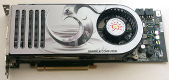 NVIDIA GeForce 8800 - Sparkle GeForce 8800 GTX - 1