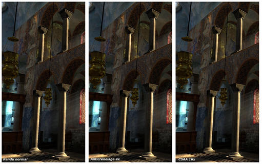 NVIDIA GeForce 8800: Test CSAA - Antialiasing (G80)