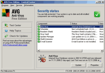 AVG Internet Security v.8.5.322a1495