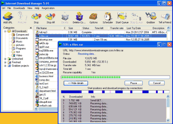 Internet Download Manager v.5.1.6