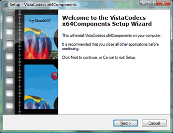 Vista Codec x64 Components v.1.8.1